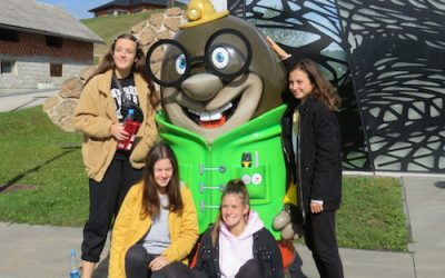 Drugi letniki gimnazije spoznavali radosti Prekmurja