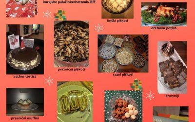 Božični izdelki naših gimnazijcev