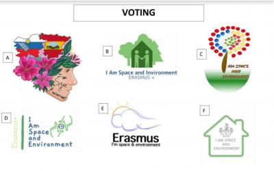 Glasuj in pomagaj izbrati najboljši logotip projekta